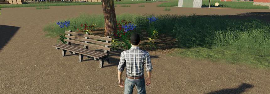 Placeable Park Bench v1.0