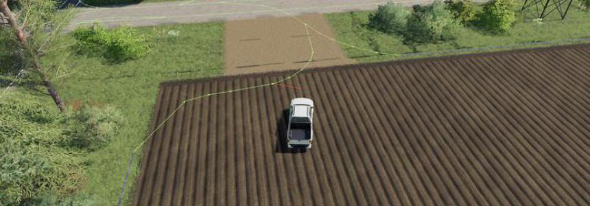 AutoDrive courses for North Frisian march without trenches v2