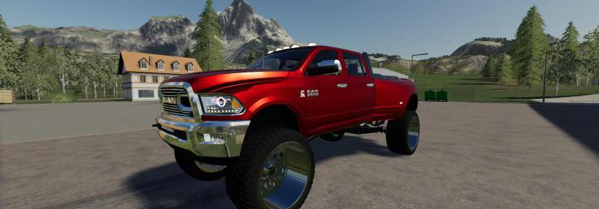 Dodge Ram 3500 Lifted v3.0