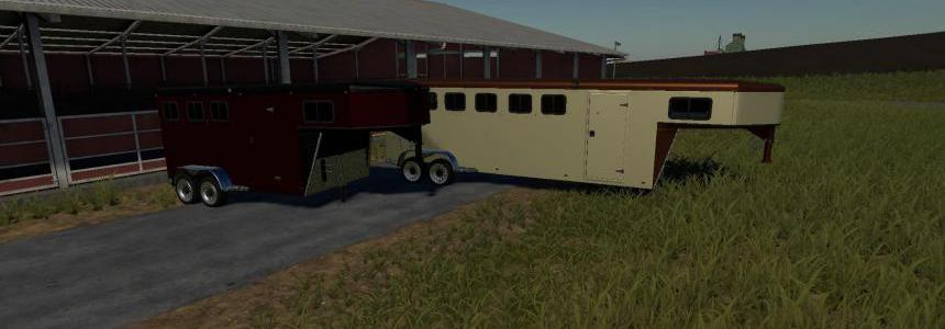 EXP19 3 and 6 horse trailers v1.0
