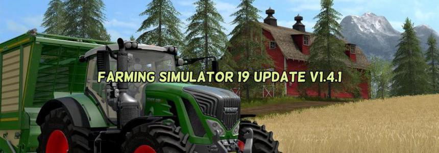 Farming Simulator 19 Update v1.4.1