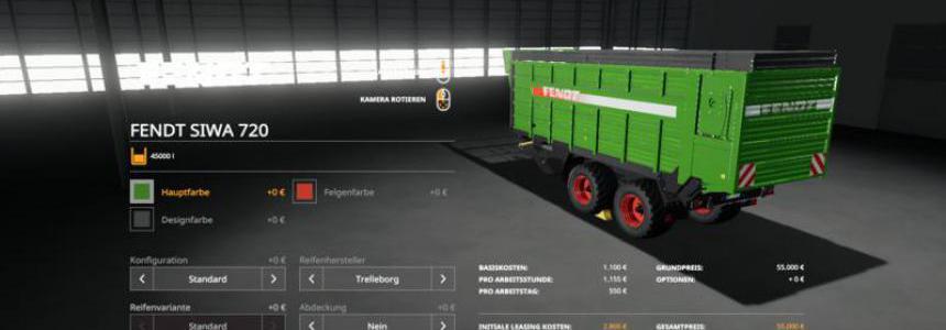 Fendt Silagewagen v1.0