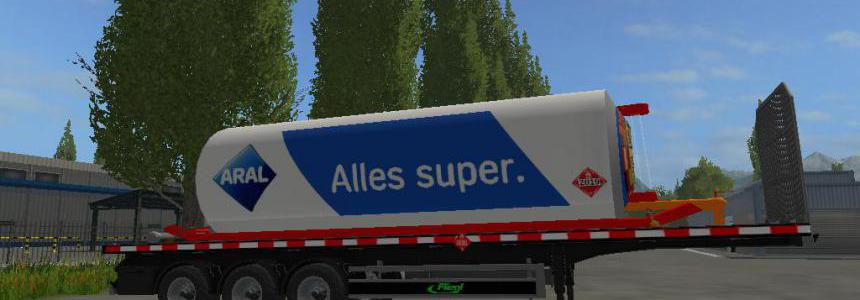 FS17 Fuel Aral Trailer By BOB51160 v1.0.0.1