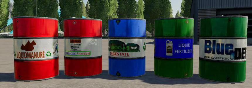 FS19 Liquid Barril BY BOB51160 v1.0.0.2
