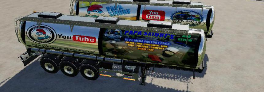 Trailer papa smurf By BOB51160 v1.0.0.6