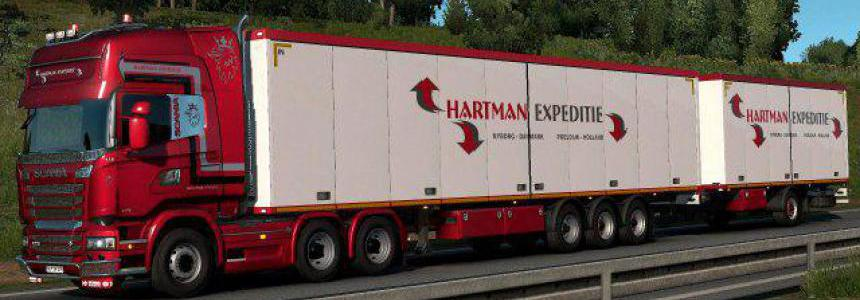 Hartman Expeditie Truck & Trailer skins v1.0