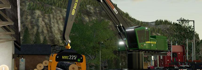 John Deere 953MH Mill Loader v1.0.0.0