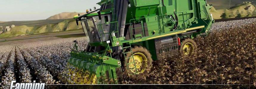 John Deere Cotton DLC Trailer v1.0
