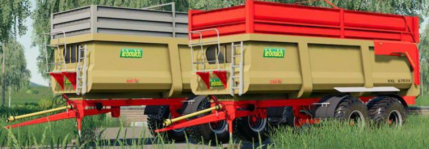 Leboulch Gold 2 XXL Trailers Pack v1.0
