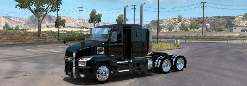 Mack anthem wrecker 1.35