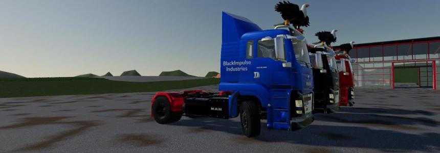 MAN TGS 18.500 BlackImpulse Edition v2.0.0.0