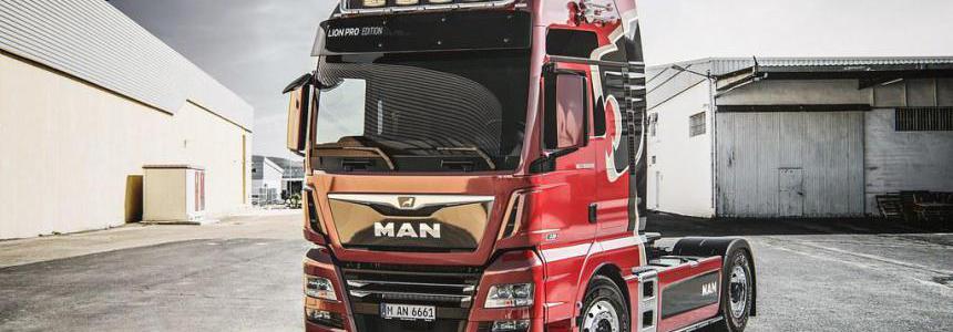 Man Tgx Euro 6 Real V8 Sound And Sound Rework 1.35