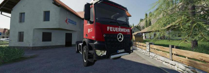 Mercedes Benz Fire Department Edition v1.0