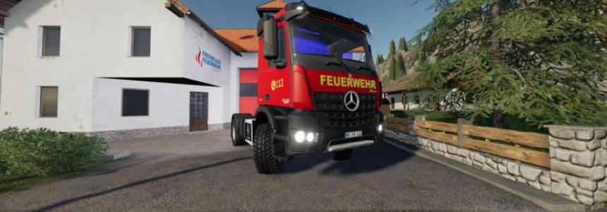 Mercedes Benz Fire Department Edition v1.1