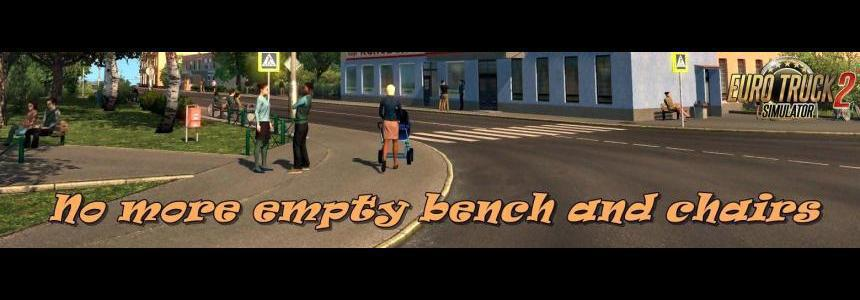 No more empty bench and chairs v1.1