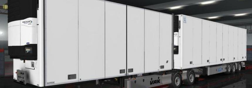 Ownable Ekeri semitrailer for VAK Vslider Addon 1.35.x