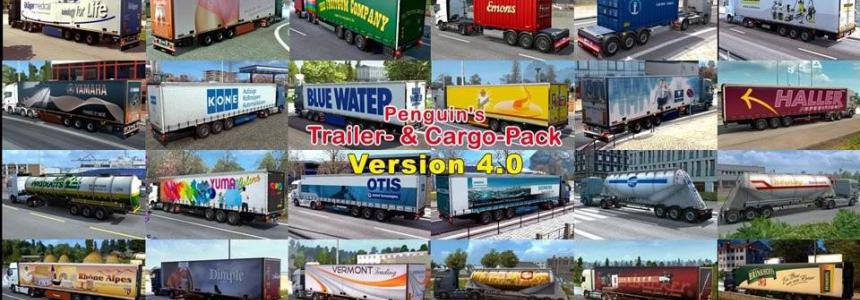 Penguins Trailer and CargoPack New v5.4