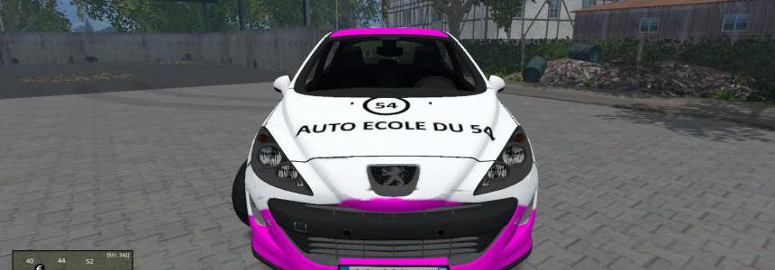 Peugeot 308 Auto Ecole By CYRIL854 v1.0