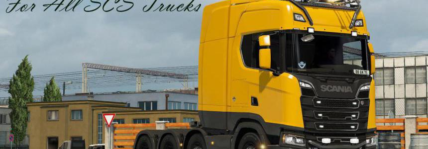 Realistic Open Pipe v1.7 For All SCS Trucks