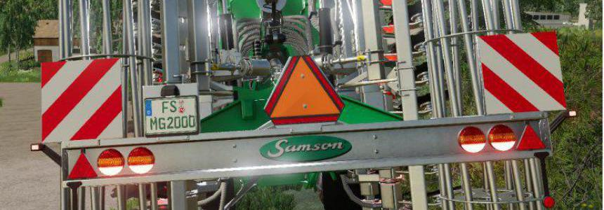 Samson slurrytools with German licenseplates v1.0