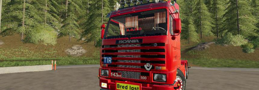 Scania 143 6x4 Swedish Edit v1.0