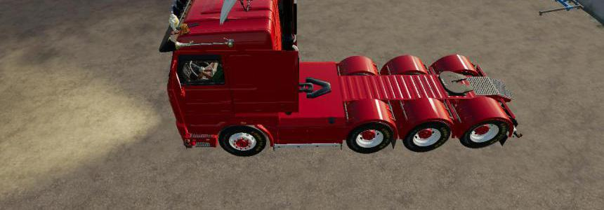 Scania 143 8x4 Swedish Edit v1.0