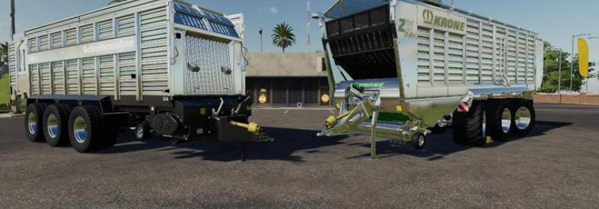 Self-loading wagon Modpack Color / Chrome Edtion v1.0