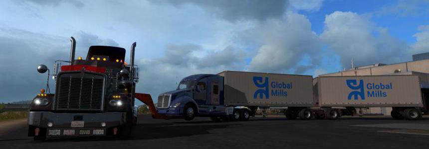 Trailer Rescue Truck v0.6.1 1.35