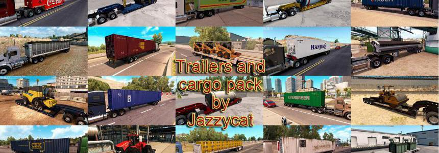 Trailers and Cargo Pack by Jazzycat v2.4