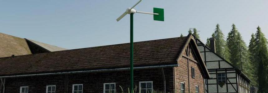 Two-wing mini wind turbine v1.0