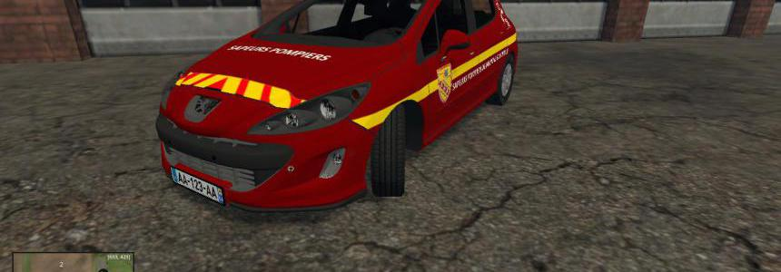 Vl Peugeot 308 Pompier v2.0