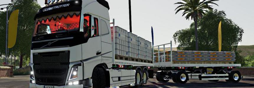 Volvo FH16 Aufbautenpack Update v1.2