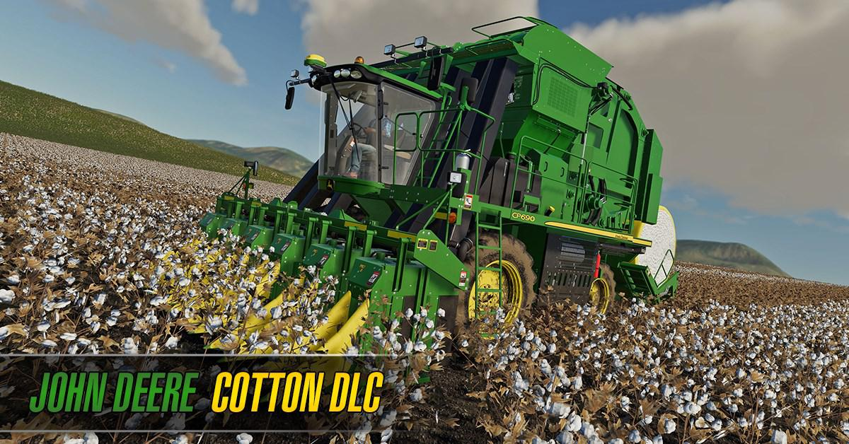 John Deere Cotton DLC (Download Only) v1 0 0 0 - Modhub us