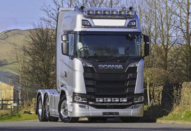 Scania Nextgen Real V8 Sound 1.35