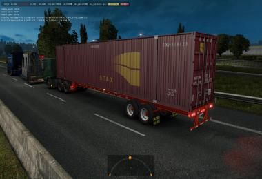 53 ft containers in traffic ETS2 1.35.x