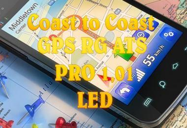 GPS RG PRO v1.01 LED CanaDream + Coast2Coast 1.35.x