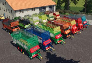 Old Forage Wagons Tandem v1.0.0.0