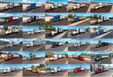 Painted Truck Traffic Pack by Jazzycat v2.1