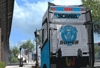 Addons for Scania S&R 2016 v1.0