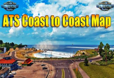 ATS Coast to Coast Map v2.8.1 by Mantrid 1.35