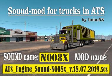 ATS Engine Sound N008x 1.35.x