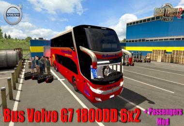 Bus Volvo G7 1800DD 6x2 + Passengers Mod v1.0