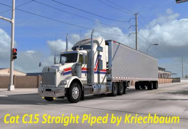 CAT C15 Straight Piped Sound Mod v1.0
