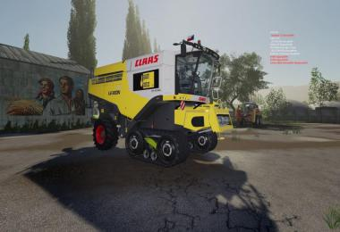 Claas Lexion USA 700 series Quacky duck cz v1.0