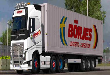 ComboSkins Borjes Logistik & Spedition - ETS2 1.35