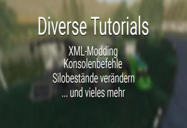 Diverse Tutorials - XML Modding and more v1.0