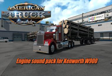 Engine sound pack for T800, W900 v2.8