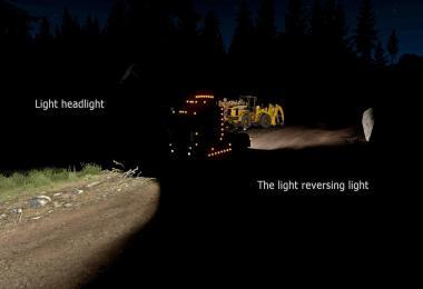 ETS2 Headlights + R 1.35.x