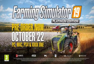 Farming Simulator 19 | Platinum Edition Teaser #1