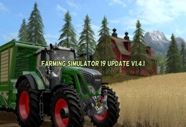 Farming Simulator 19 Update v1.4.1